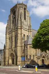 The Holy Name Roman Catholic church, Oxford Road, University of Manchester