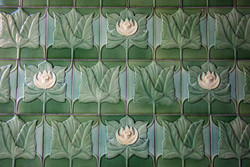 Tiles, The Raven Hotel, Market Street, Wigan