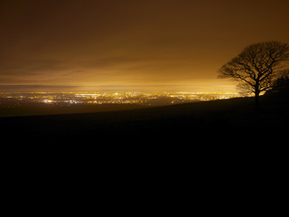 Manchester from Sponds Hill