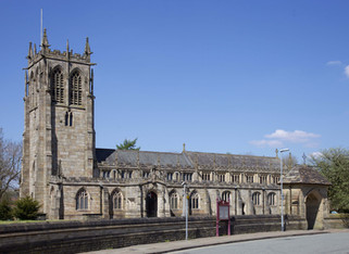 St Chad the Towns's Parish Church, Church Stiles, Rochdale