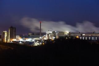 Saica paper factory, Partington, Trafford