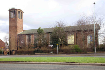 St Bernadette's Catholic Church, Princess Road, Withington