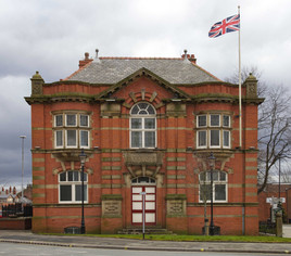 Hindley Town Hall, Wigan Road, Hindley