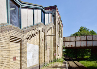 Moorside railway station, Moorside Road, Swinton