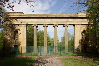 Old Manchester Town Hall Colonnade, Heaton Park