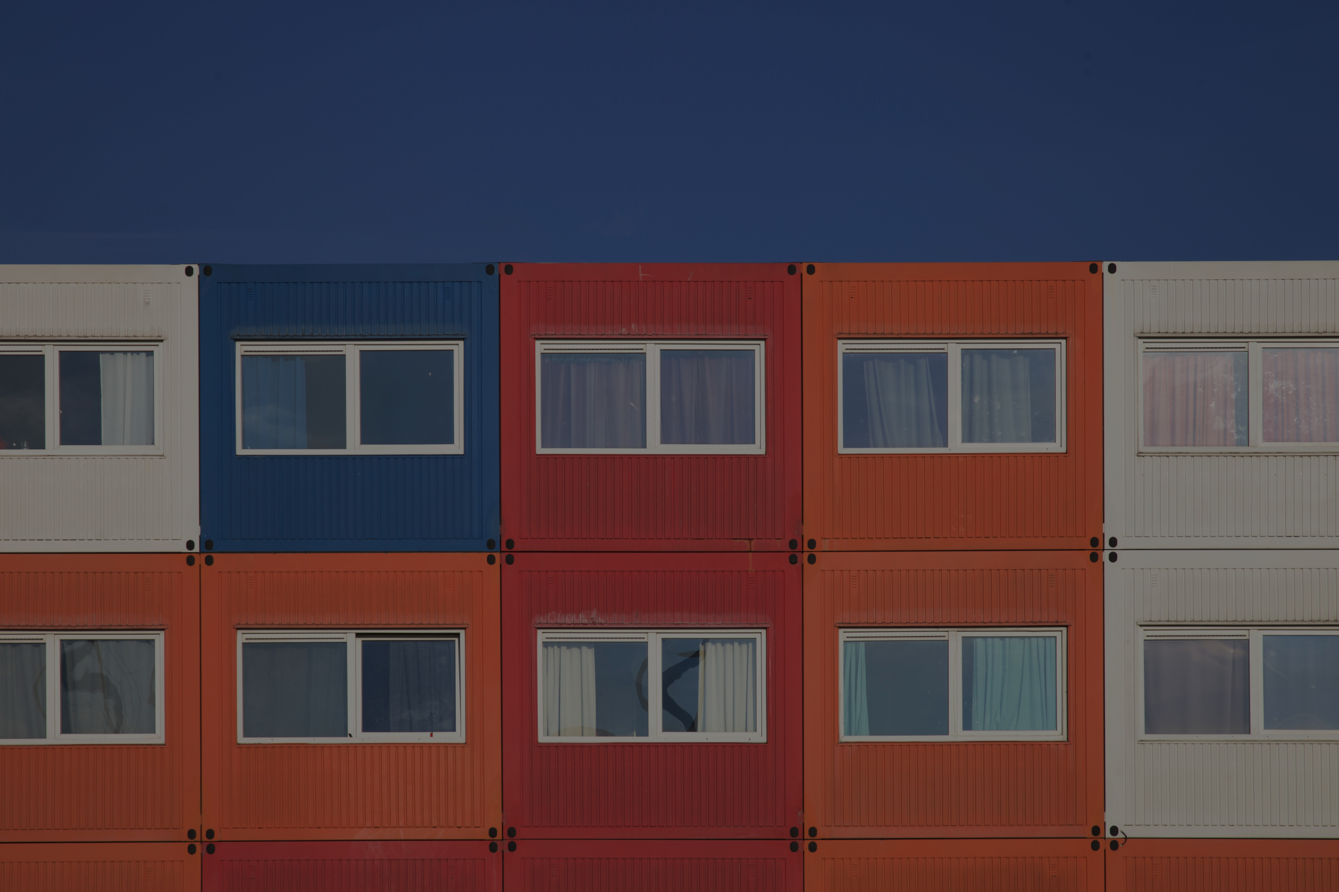 Container housing, Kaprozenweg, NSDM Wha