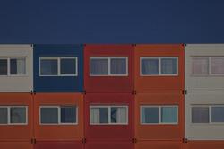 Container housing, Kaprozenweg, NSDM Wha