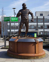 Billy Boston, Believe Square, Wigan