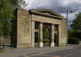 Remnant of old Stalybridge Town Hall, Trinity Street, Stalybridge