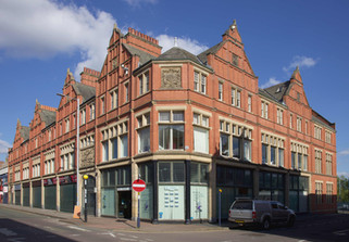 Clarence Arcade buildings, Delamere Street, Ashton-under-Lyne