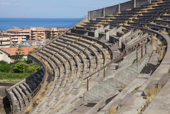 Sports stadium, Giarre, Italy