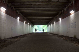 M60 underpass, Roe Green, Salford