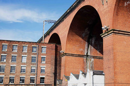 Railway viaduct, Stockport