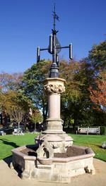 Ockleston Drinking Fountain, Cheadle Green, Cheadle Village, Stockport