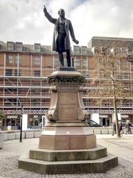 William Ewart Gladstone, Albert Square