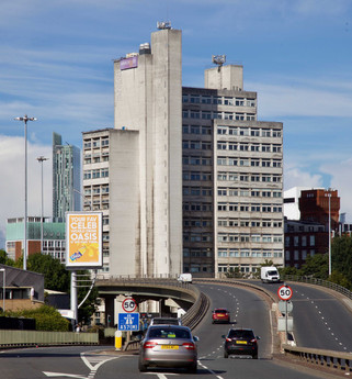 Maths and Social Sciences Building, University of Manchester, Mancunian Way