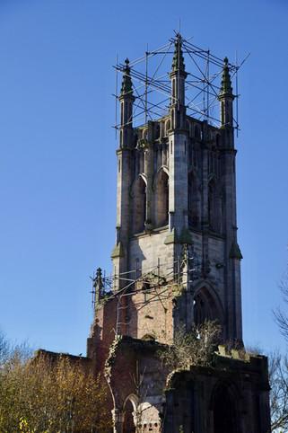 St Luke's church, Cheetham Hill Road, Cheetham Hill