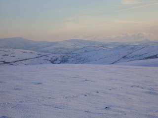 Shining Tor from Sponds Hill