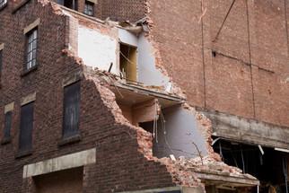 Demolition of the Odeon Cinema, Oxford Street, April 2017