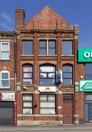 Former co-operative building, Shaw Road, Oldham