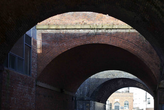 Railway viaducts, Spaw Street, Salford