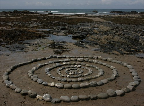 Stone circles, Crackington Haven, Cornwall