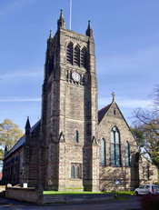 St Clement's Church, Manor Avenue, Urmston, Trafford