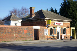 Timperely tram station, Park Road, Timperley, Trafford