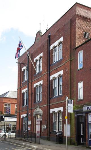 Tyldesley Town Hall, Elliott Street, Tyldesley