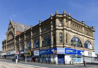 Oldham Equitable Co-operative Society building, Huddersfield Road, Oldham