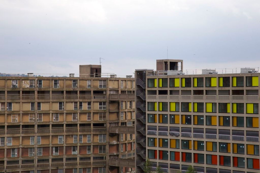 The old and the new at Park Hill