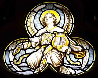 Tiles, Holy Name Roman Catholic Church, Oxford Road