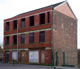 Premises of the Radcliffe Times, Church Street, Radcliffe