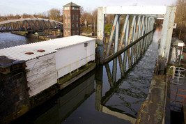 Barton Swing Viaduct, Manchester Ship Canal and Bridgewater Canal, Eccles