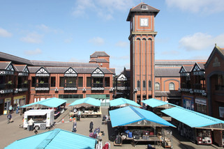 Open market, The Galleries shopping centre, Wigan