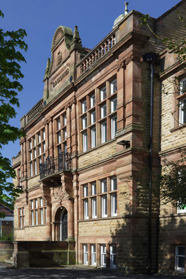 Former council offices, Thornfield Road, Heaton Moor, Stockport