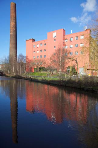 Clarence Mill, Huddersfield Narrow Canal, Stalybridge