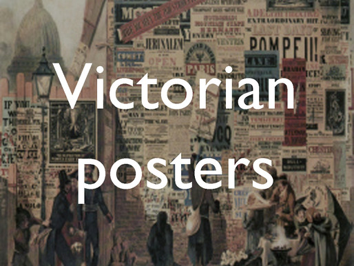 The language of the walls: Victorian posters