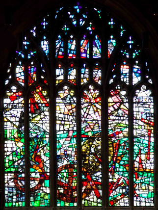 Creation Window, Manchester Cathedral