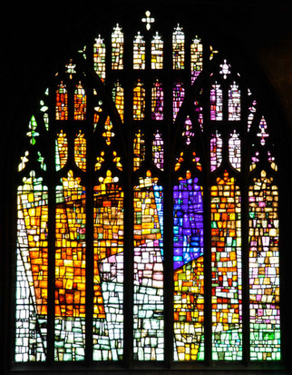 Revelation window, Manchester Cathedral