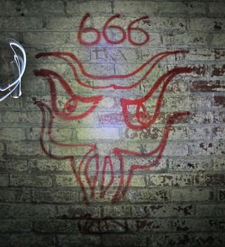 Graffiti, Second World War air-raid shelters under the Great Northern Warehouse