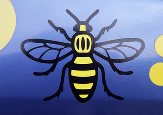 Car sticker, Bowerfold Lane, Heaton Norris, Stockport