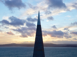 Geo-needle, Exmouth, Devon