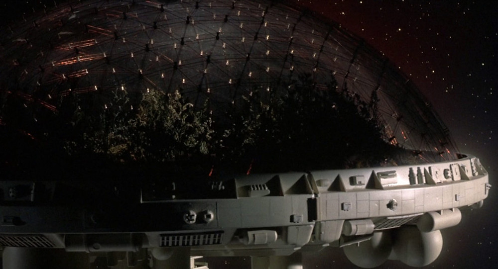 One of the giant space-travelling bio-domes in Silent Running (1973)