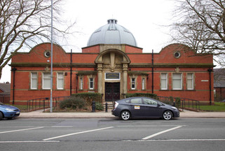 Farnworth library, Market Street, Farnworth, Bolton