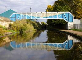 Footbridge, Ashton Canal, Clayton