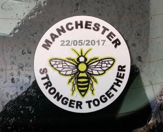 Car sticker, Stockport