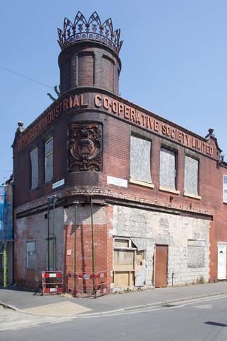 Droylsden Industrial Co-operative Society, Stockholm Street, Clayton