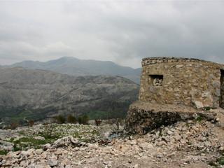 Croatia/Bosnia border near Dubrovnik