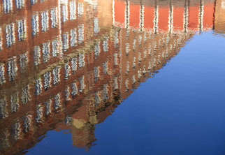 Reflection, Rochdale Canal, Ancoats